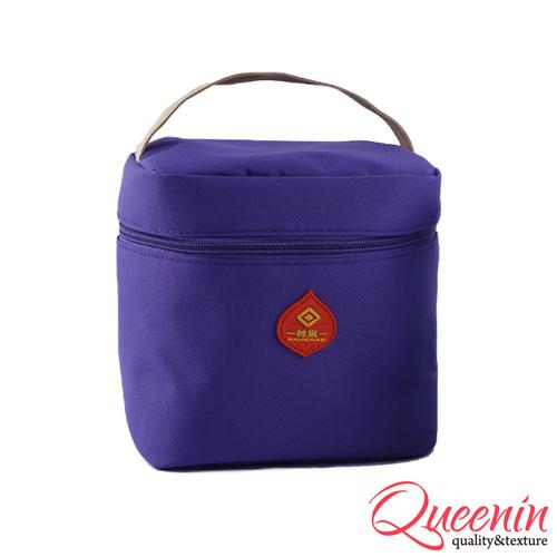 DF Queenin日韩 - 野餐生活新乐趣轻便式保冷保温袋-紫色