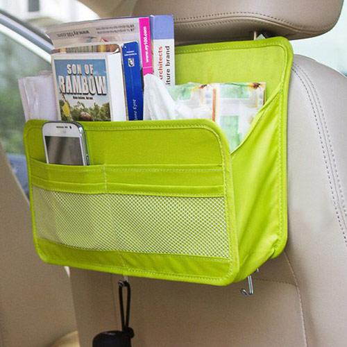 DF 生活趣馆 - 车用多功能收纳单层式挂袋