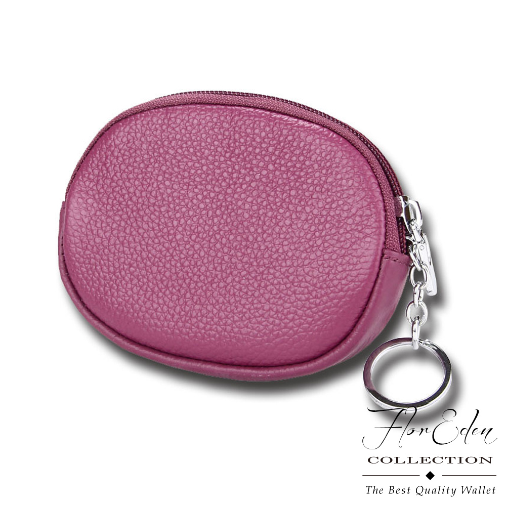 DF Flor Eden皮夹 - 质感牛皮款随身零钱包小包-共3色