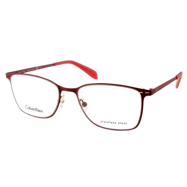 Calvin Klein眼镜 美式经典/红#CK5402 604