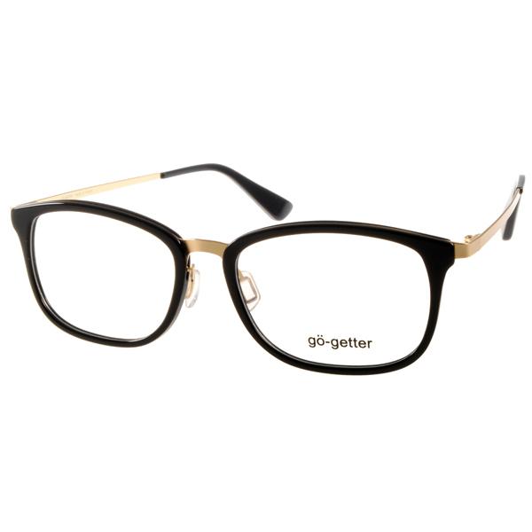 Go-Getter眼镜 复古圆框/琥珀#GO2018 C05