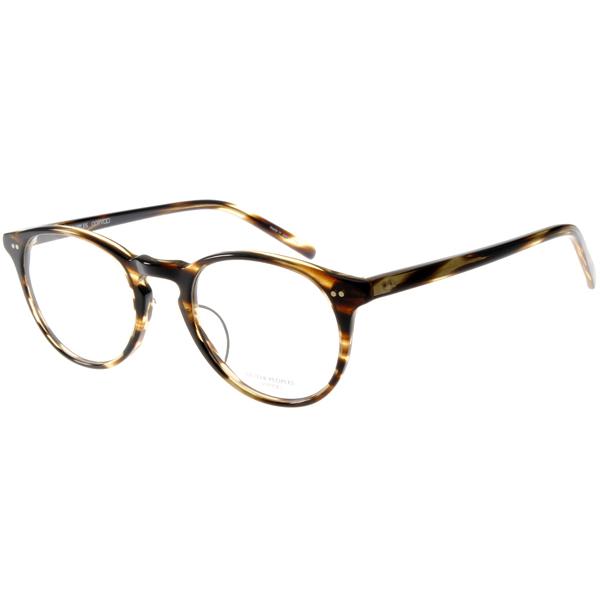 OLIVER PEOPLES眼镜 义式简约/琥珀棕#RILEY-K 4663