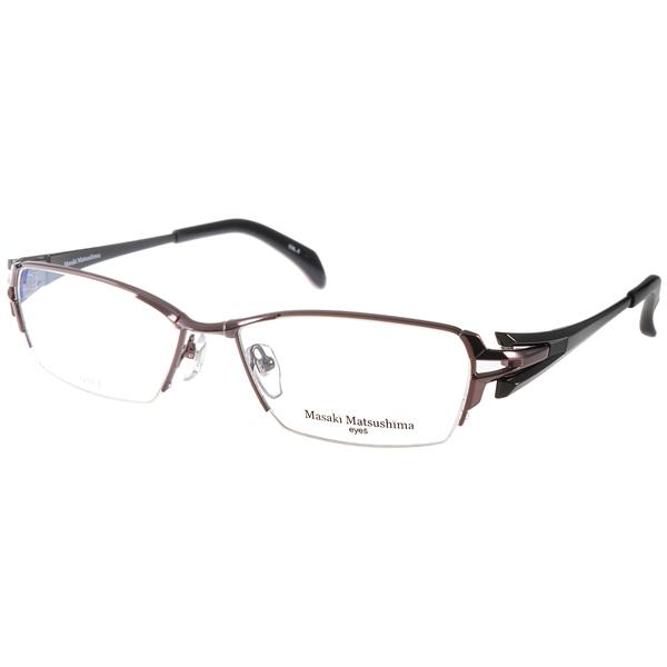 Masaki Matsushima眼镜 日本β钛金属/棕-黑#MF1192 C03