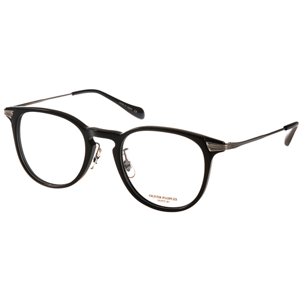 OLIVERPEOPLES眼镜明星御用款/黑-银
