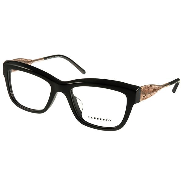 BURBERRY眼鏡 Gabardine系列典雅款/黑 #BU2211F 3001價格