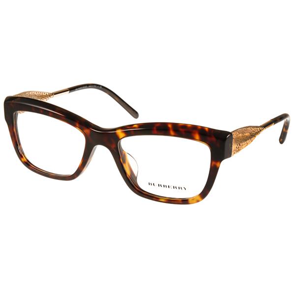 BURBERRY眼鏡 Gabardine系列典雅款/琥珀 #BU2211F 3002價格