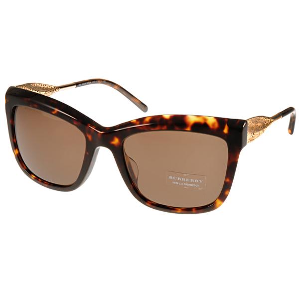 BURBERRY太陽眼鏡 Gabardine系列經典女款/琥珀 #BU4207F 300273價格