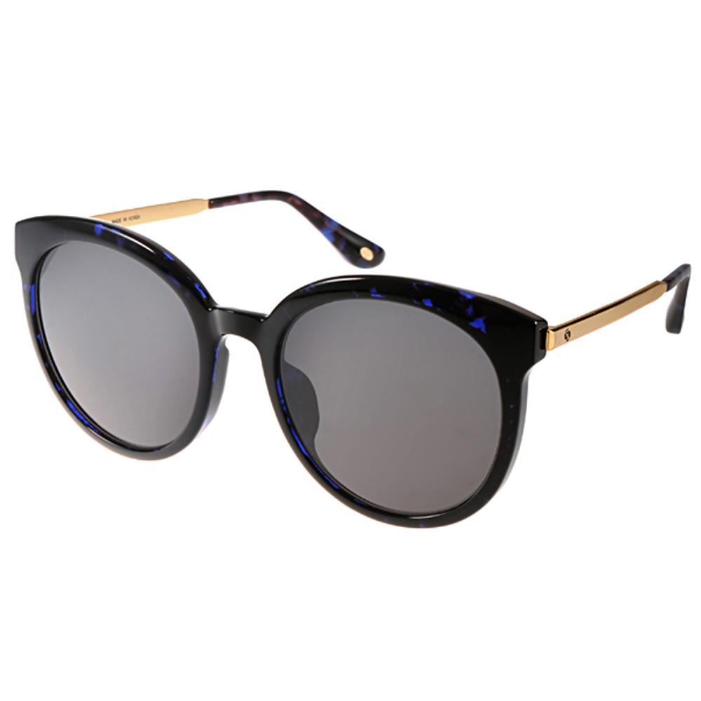 Go-Getter太陽眼鏡 大框貓眼/灰-琥珀藍金 GS4002 07
