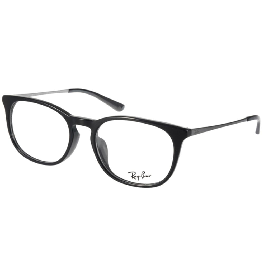RAY BAN眼镜 人气热销/黑-银 #RB5349D 2000