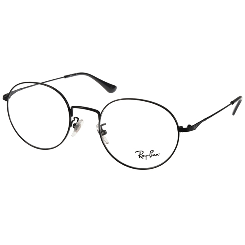 RAY BAN眼镜 别致细圆框/黑 #RB6369D 2509