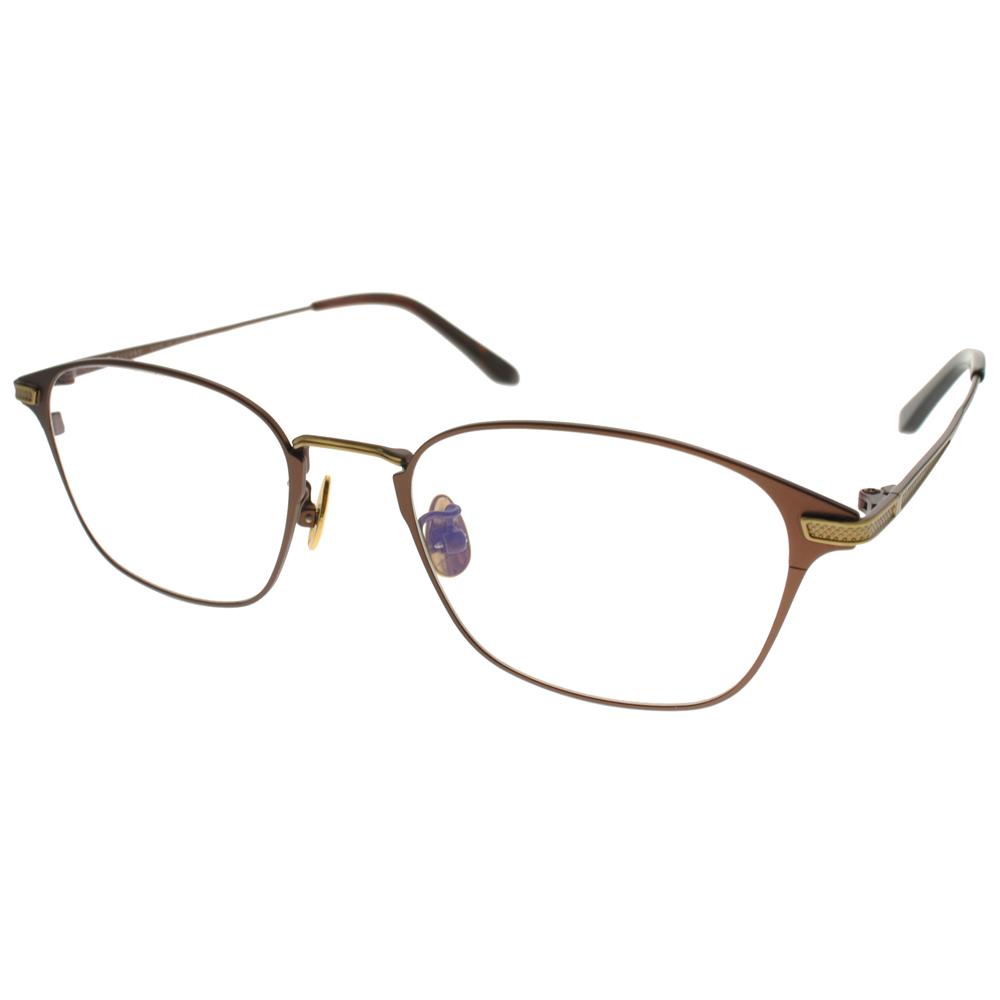 NINE ACCORD 光学眼镜 文极简百搭方框 /棕-金 # PLACO ELSE2 C02