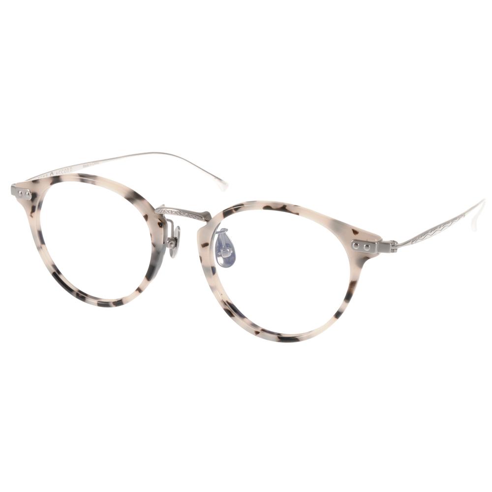 NINE ACCORD光學眼鏡 β鈦金屬簡約 大理石-銀#UNION UR C03