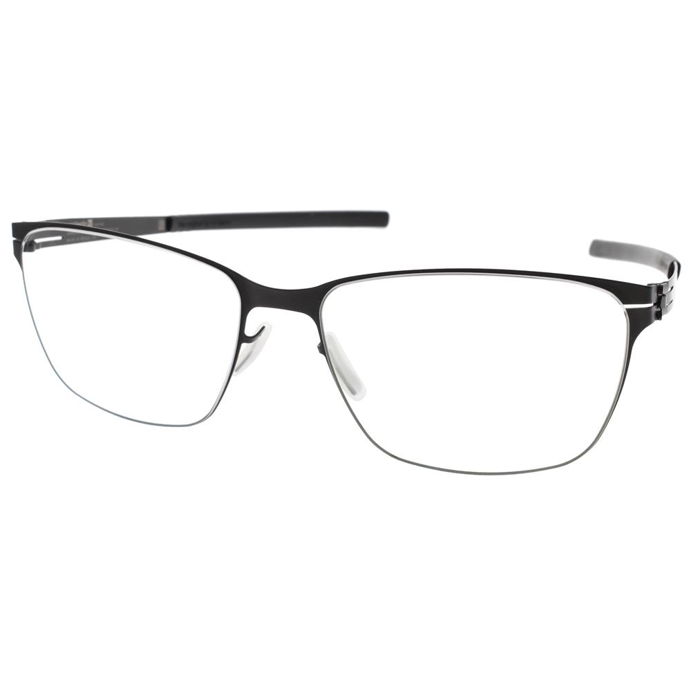 Ic! Berlin眼镜 薄钢复古细框款 /黑#DIANA F BLACK