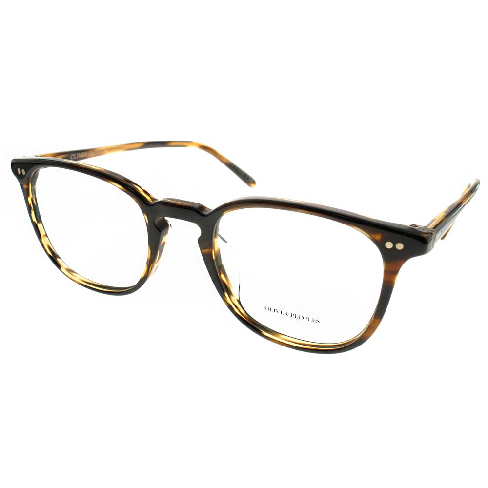 OLIVER PEOPLES眼镜 简约百搭款/流线棕 #EBSEN 1003