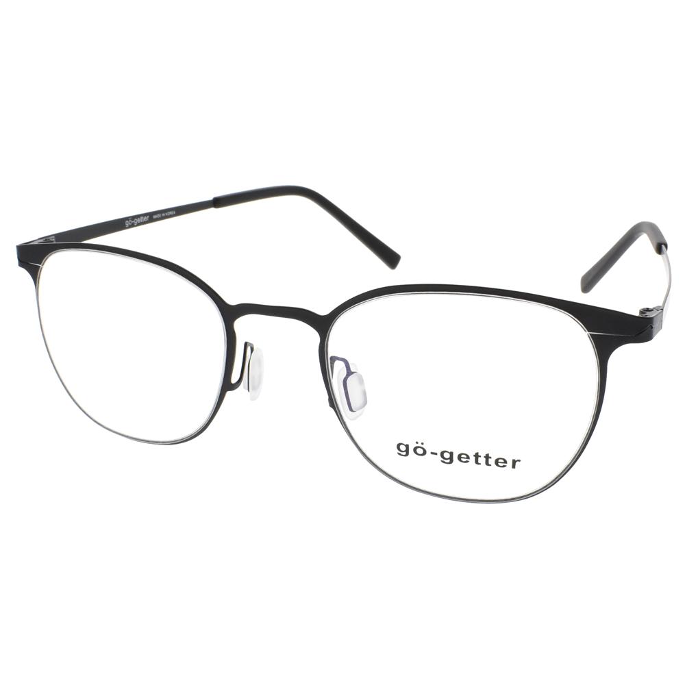 Go-Getter 眼镜 韩系简约休闲款(雾黑) #GO2045 BK