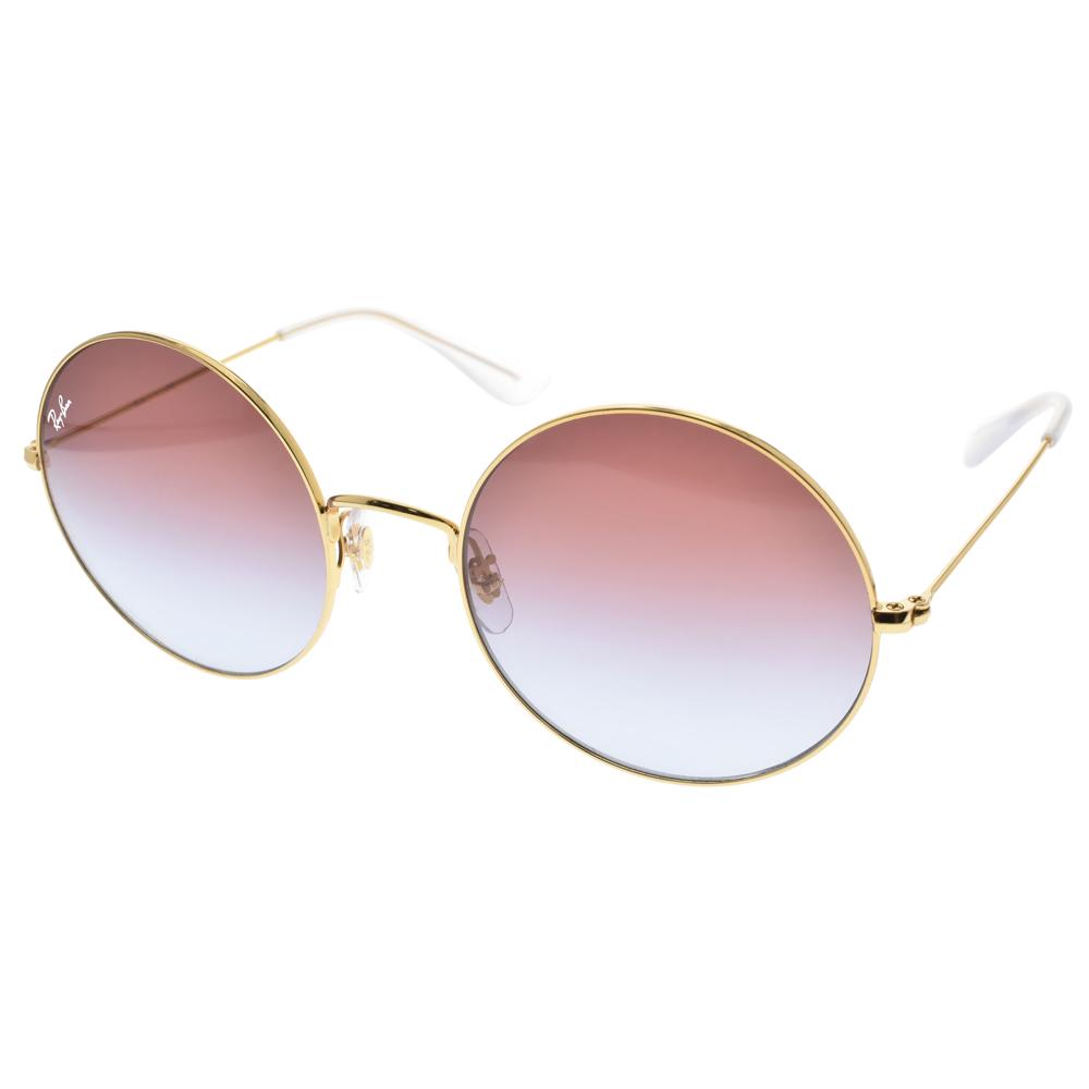 RAY BAN太阳眼镜 复古元素俏皮圆框(金) #RB3592 001I8