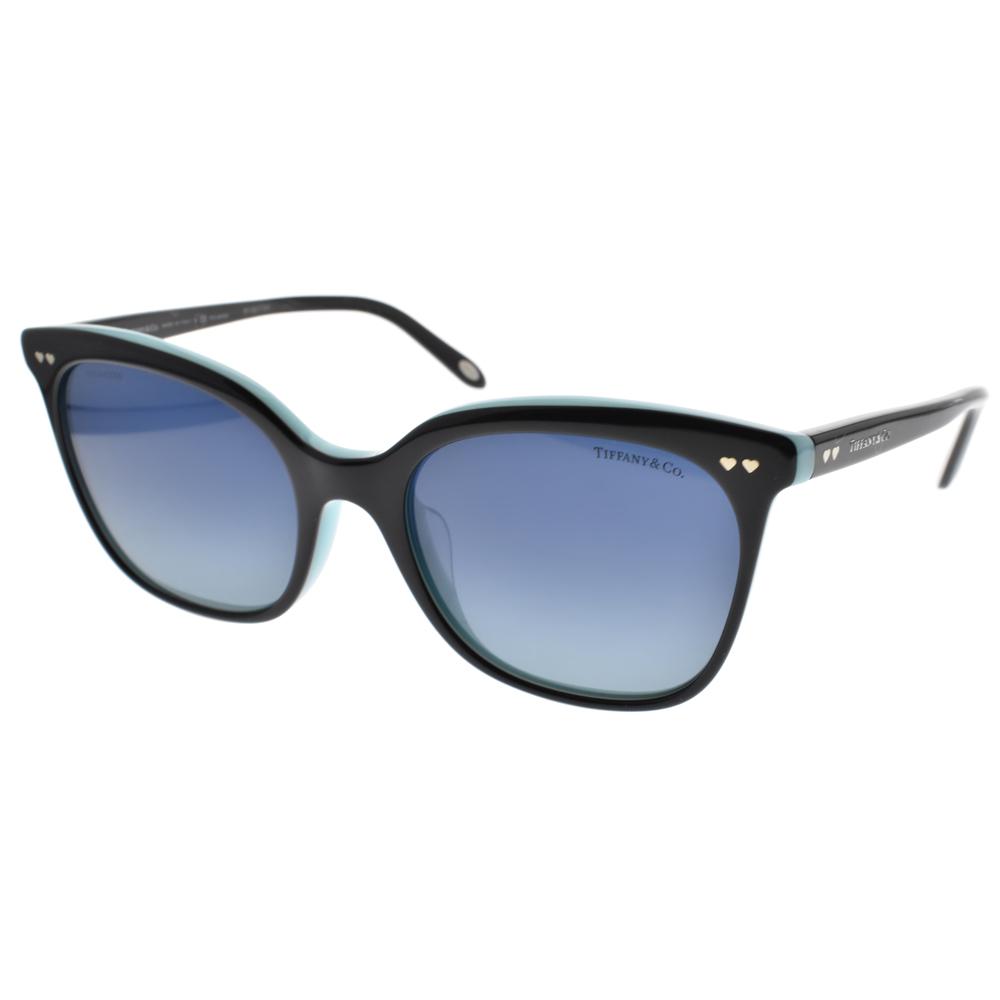 Tiffany&CO.偏光太阳眼镜 典雅猫眼款/黑 #TF4140F 80554U