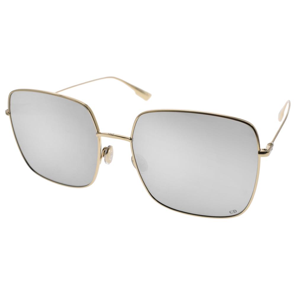 DIOR太阳眼镜 欧美时尚方框/金-白水银 #STELLAIRE1 83I0T