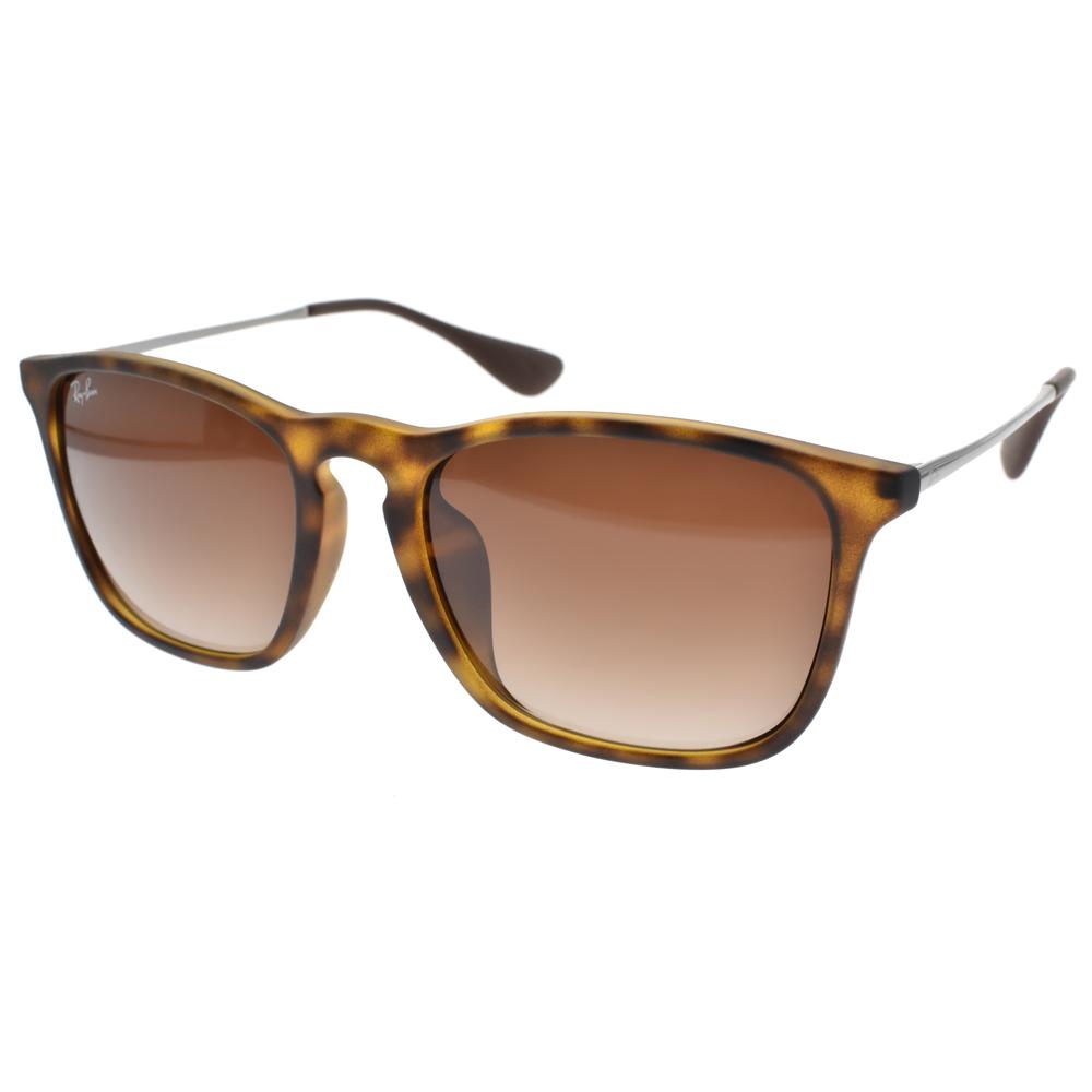 RAY BAN太阳眼镜 经典流行/雾琥珀 #RB4187F 85613
