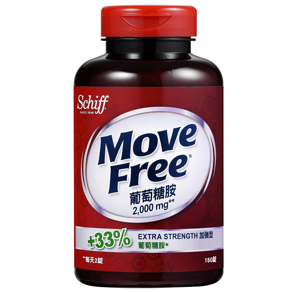 Schiff-Move Free加强型葡萄糖胺150颗