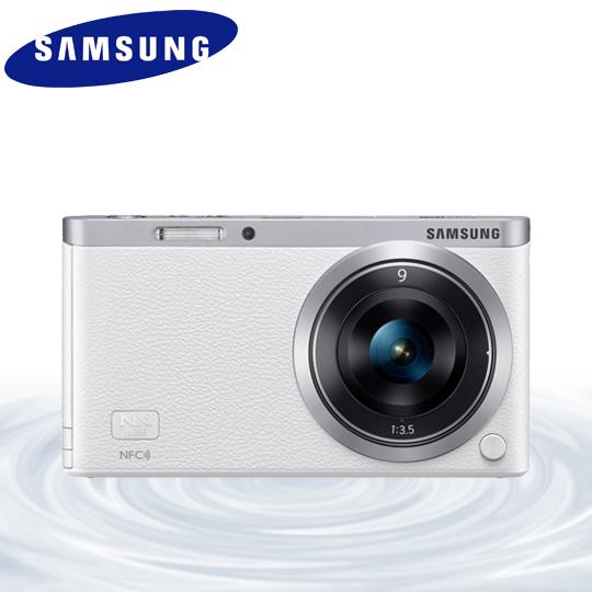[送32G SD+自拍架]Samsung NX mini NXF1 9mm 定焦鏡組 白色 微單眼相機(公司貨)價格