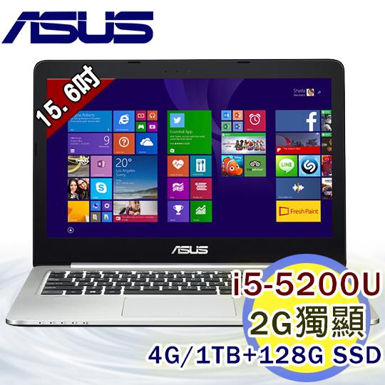 ASUS K501LX-0061A5200U 15.6吋 i5-5200U 雙核 2G獨顯FHD Win8.1筆電