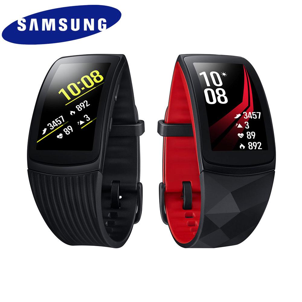 [送14吋立扇]Samsung Gear Fit2 Pro 运动智慧型手环(长表带)
