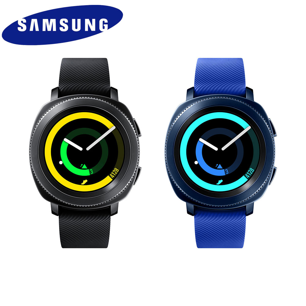 [送飞狼侧背包+Kamill组合包]Samsung Gear Sport (SM-R600) 运动智慧型手表