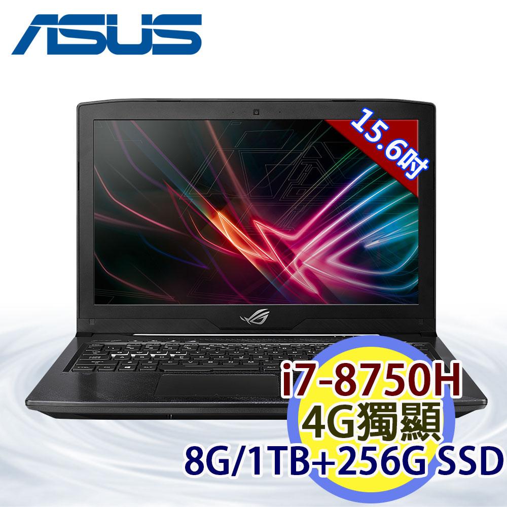 [送Office 365+七巧包]ASUS ROG STRIX Hero GL503GE-0091D8750H 15.6吋 i7-8750H 六核 4G独显 Win10 电竞笔电