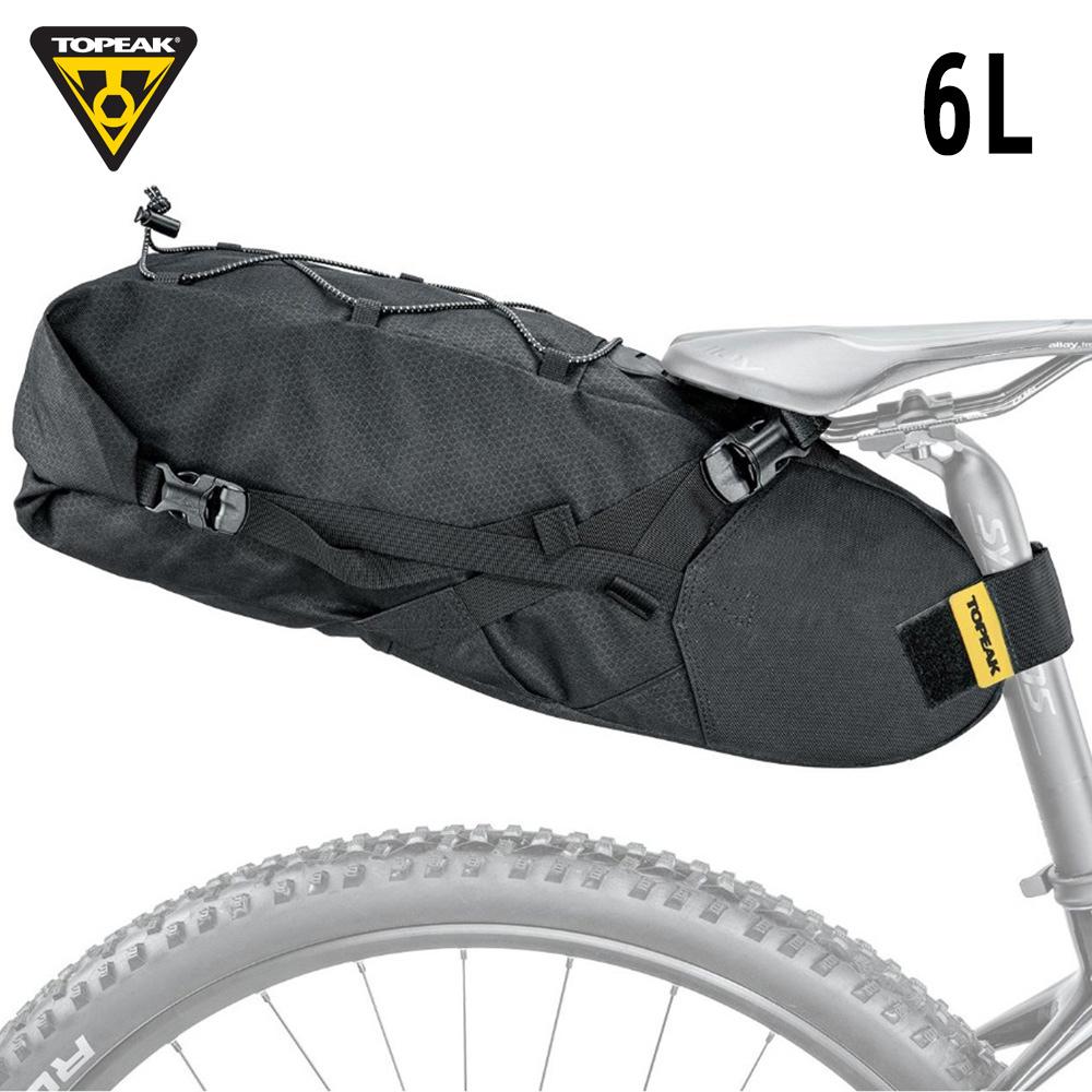 TOPEAK Backloader 綁帶式座墊袋輕旅行後行李袋(防水內袋)-6L