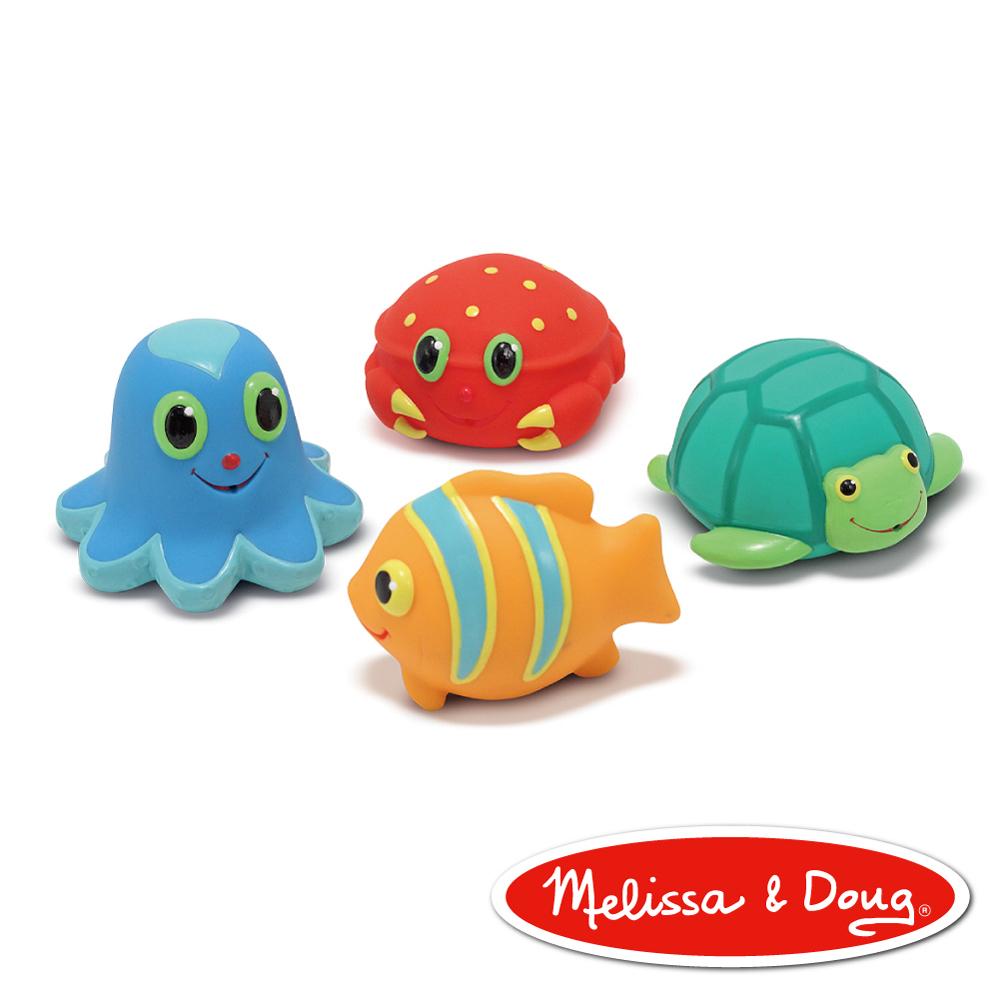 ~ 第一幼教品牌↘79折~ 美國瑪莉莎 Melissa   Doug SP 海洋噴水生物