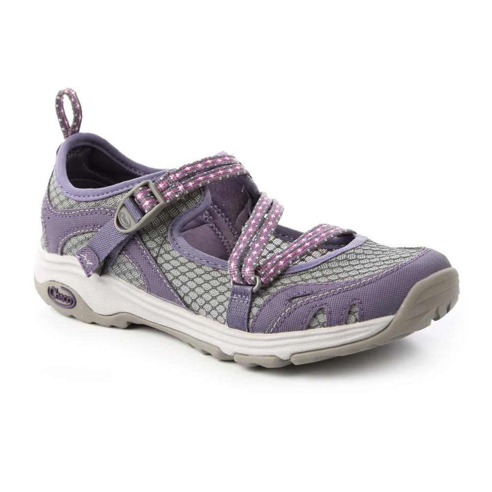 美国Chaco。女 冒险运动水路鞋CH-ECW04HC72 (基多紫)