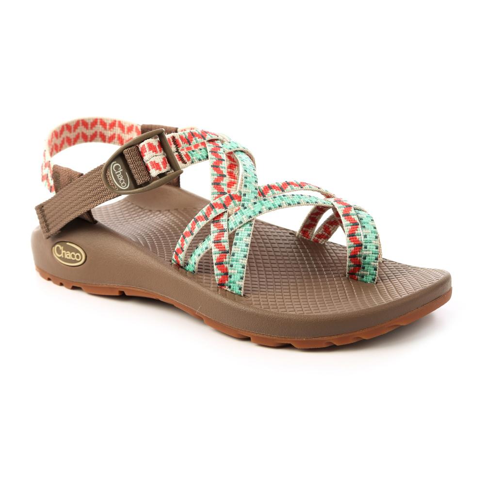 美国Chaco。女 越野运动凉鞋-细织夹脚款CH-ZCW04HE46 (皇室松绿)