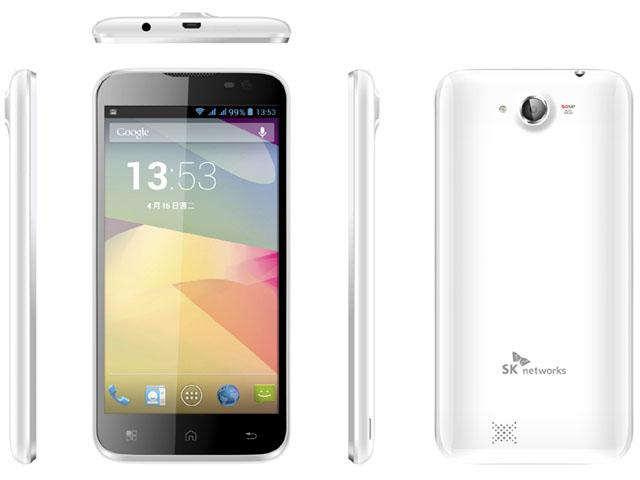 SK WA520 5吋四核心雙卡雙待智慧型手機