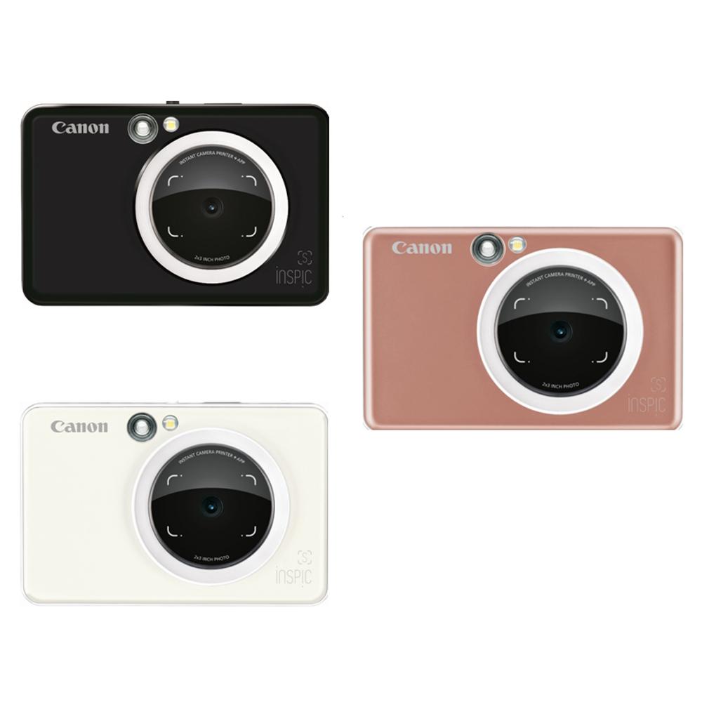 CANON iNSPiC [S] ZV-123A 可連手機拍可印相機 台灣代理商公司貨