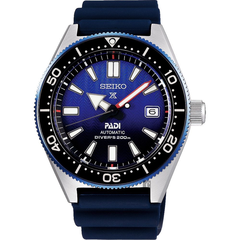 SEIKO 精工 Prospex PADI 联名200米潜水机械表 6R15-04B0B(SPB071J1)