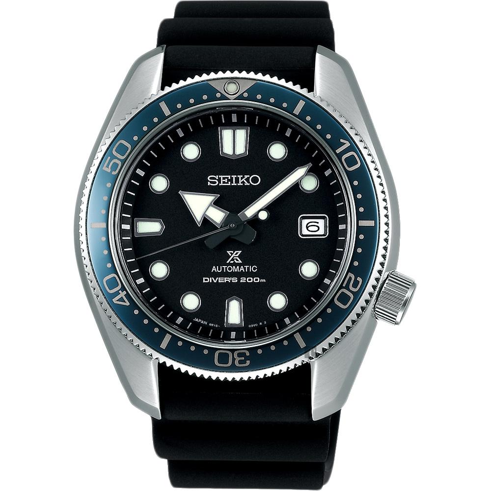 SEIKO 精工 PROSPEX 200米潜水机械表-黑/44mm 6R15-04G0X(SPB079J1)