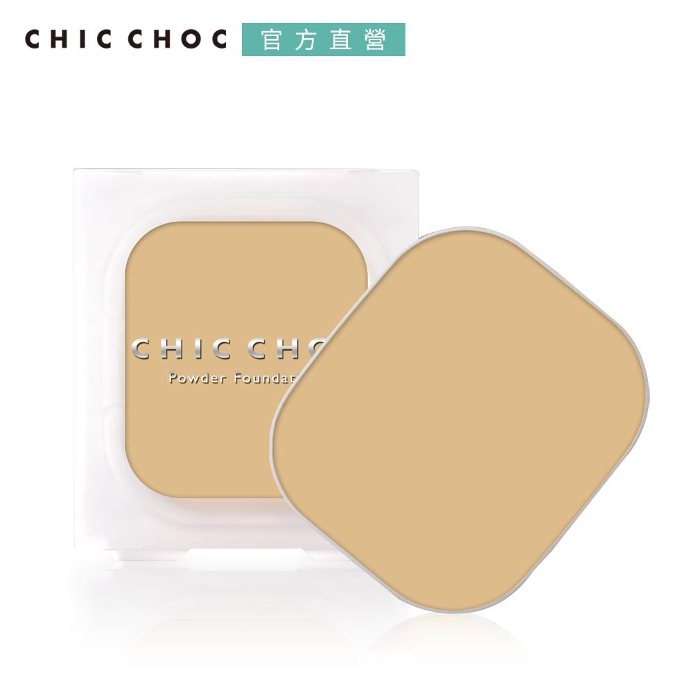 CHIC CHOC 櫻的美肌持久粉餅-蕊 10g (三色可選)