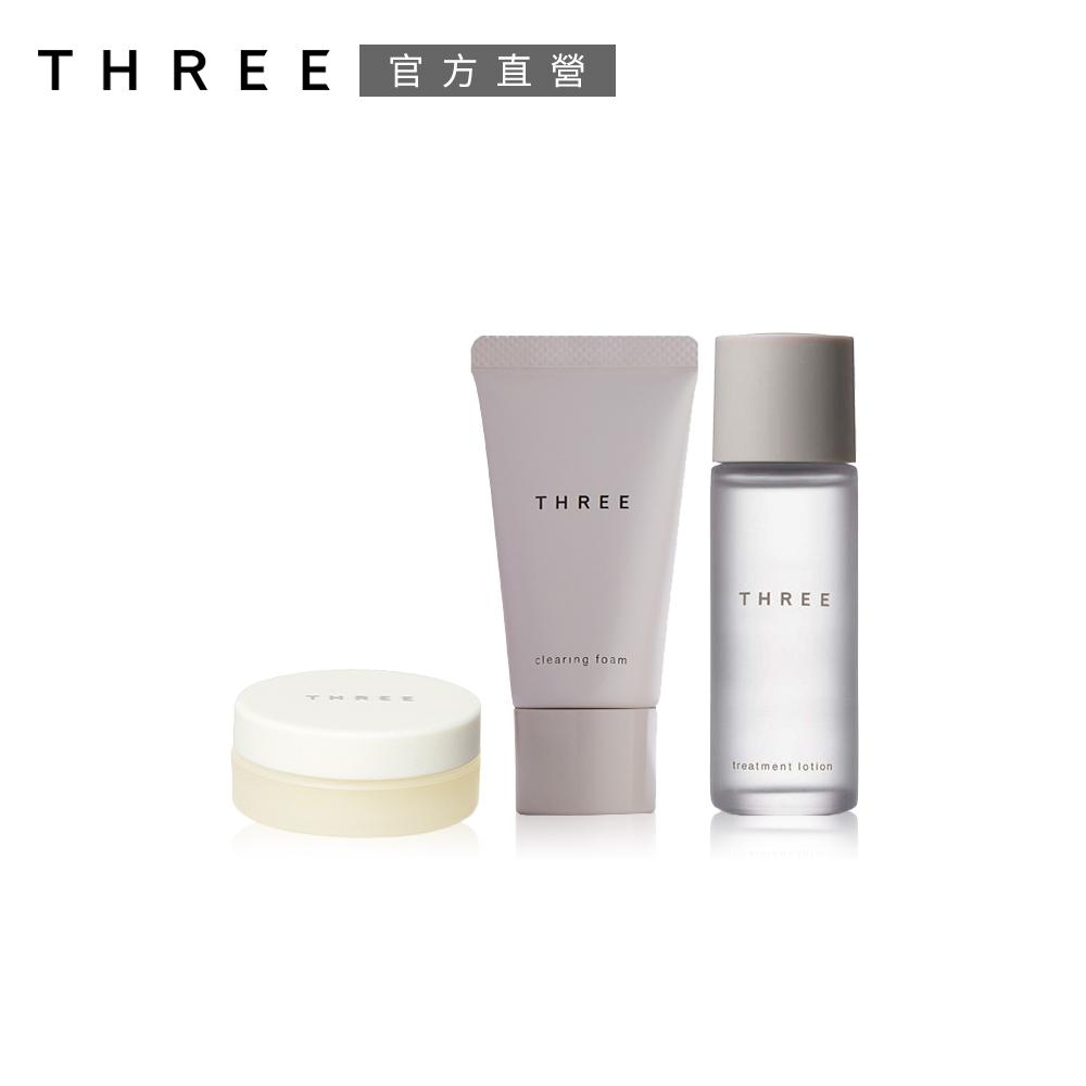 THREE 樂活護唇膏肌能保養組