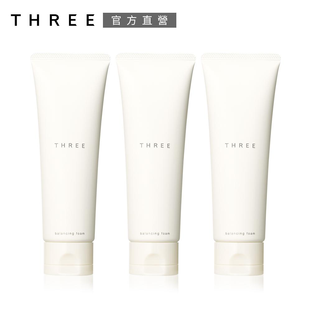 THREE 平衡洗顏皂霜120g-3入團購組