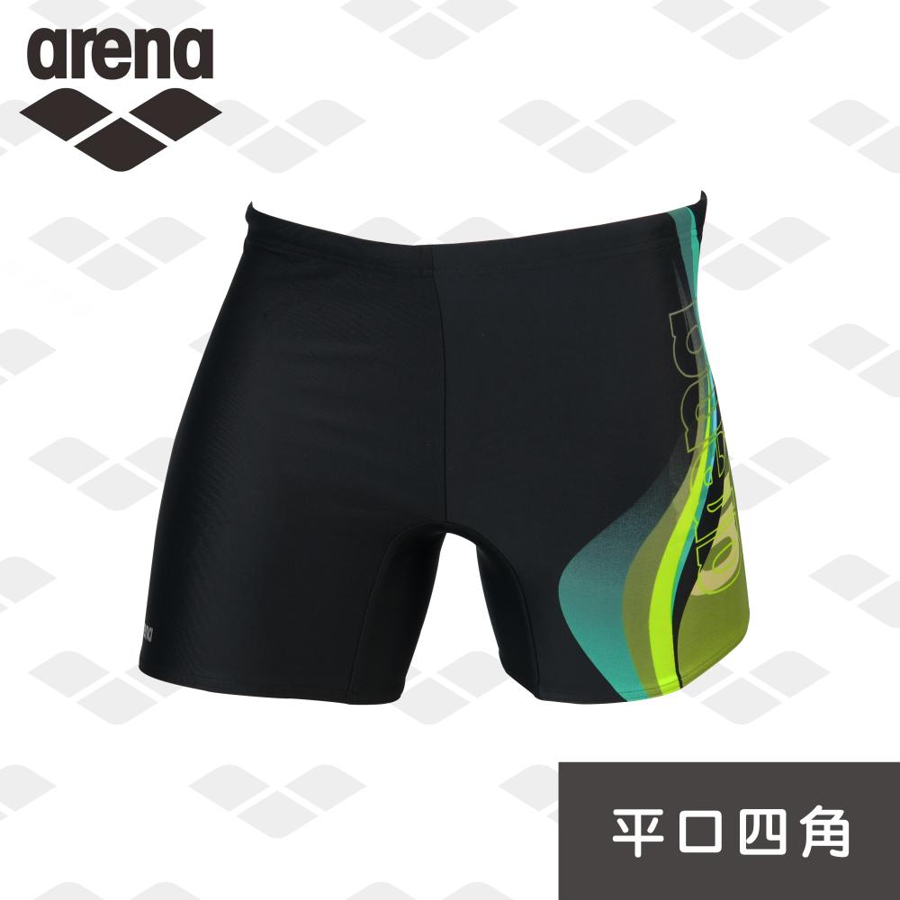 【限量 新款】arena 休闲健身款 FSS6251MA 男士 平口四角泳裤 专业时尚 透气舒适速干  耐穿