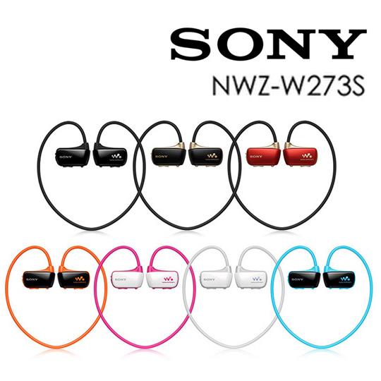 [贈限量折疊收納袋]SONY NWZ-W273S防水數位隨身聽