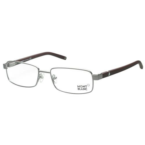 萬寶龍MONTBLANC 光學眼鏡 ( 銀色 ) MB386-014