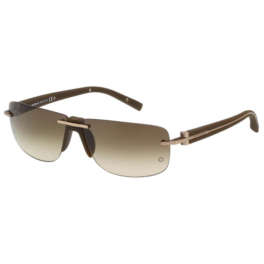 万宝龙 MONTBLANC-太阳眼镜(咖啡色)MB360S