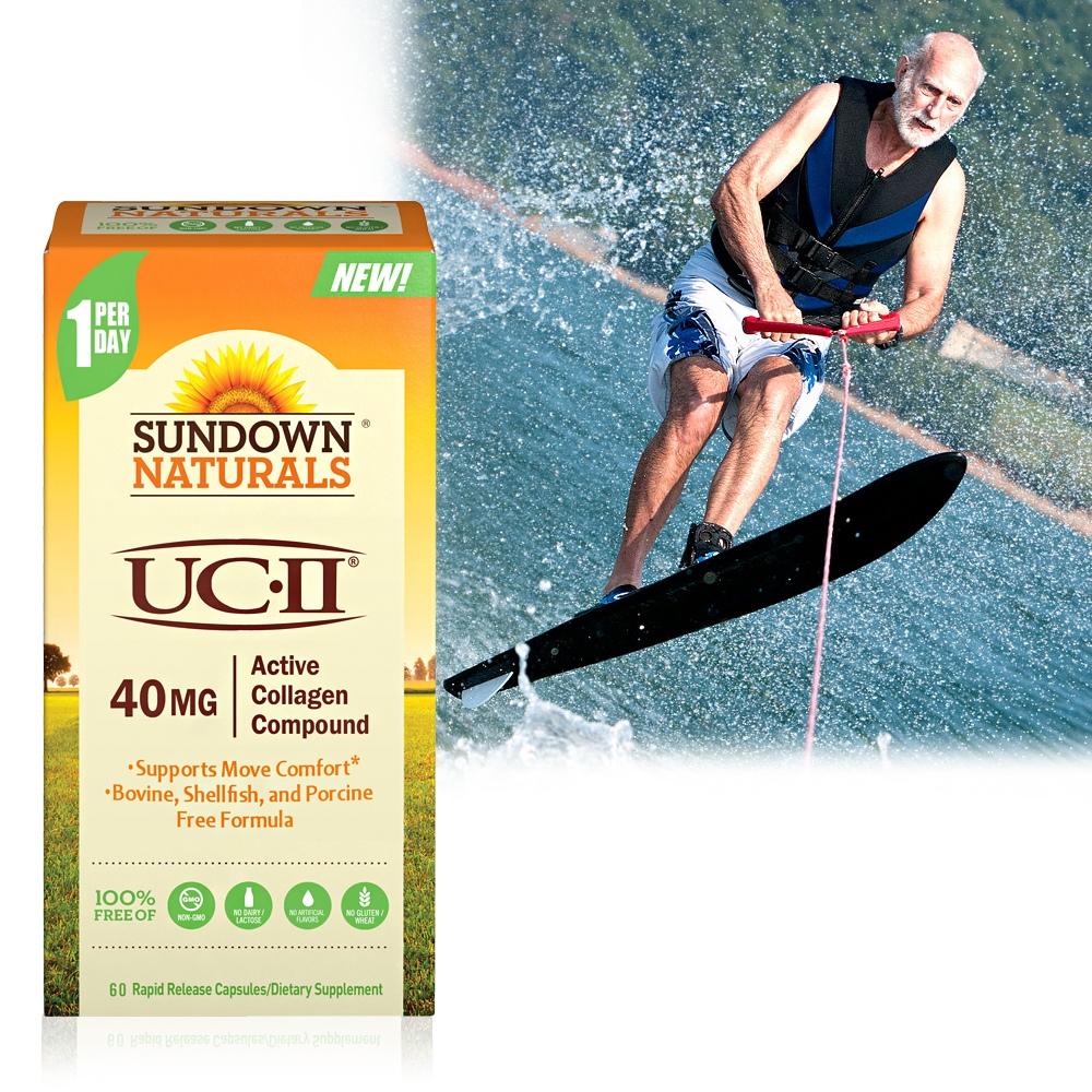 《Sundown日落恩赐》勇健UCII®非变性二型胶囊(60粒/瓶)