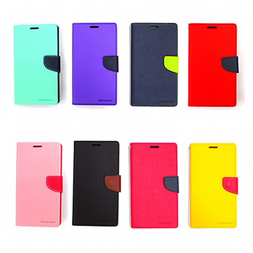 MERCURY Apple iPhone6 plus 花样日记 大陆限定版 站立式撞色皮套