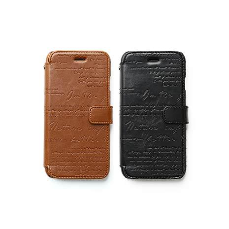 ZENUS Apple iPhone6 复古刻纹 书本式皮套