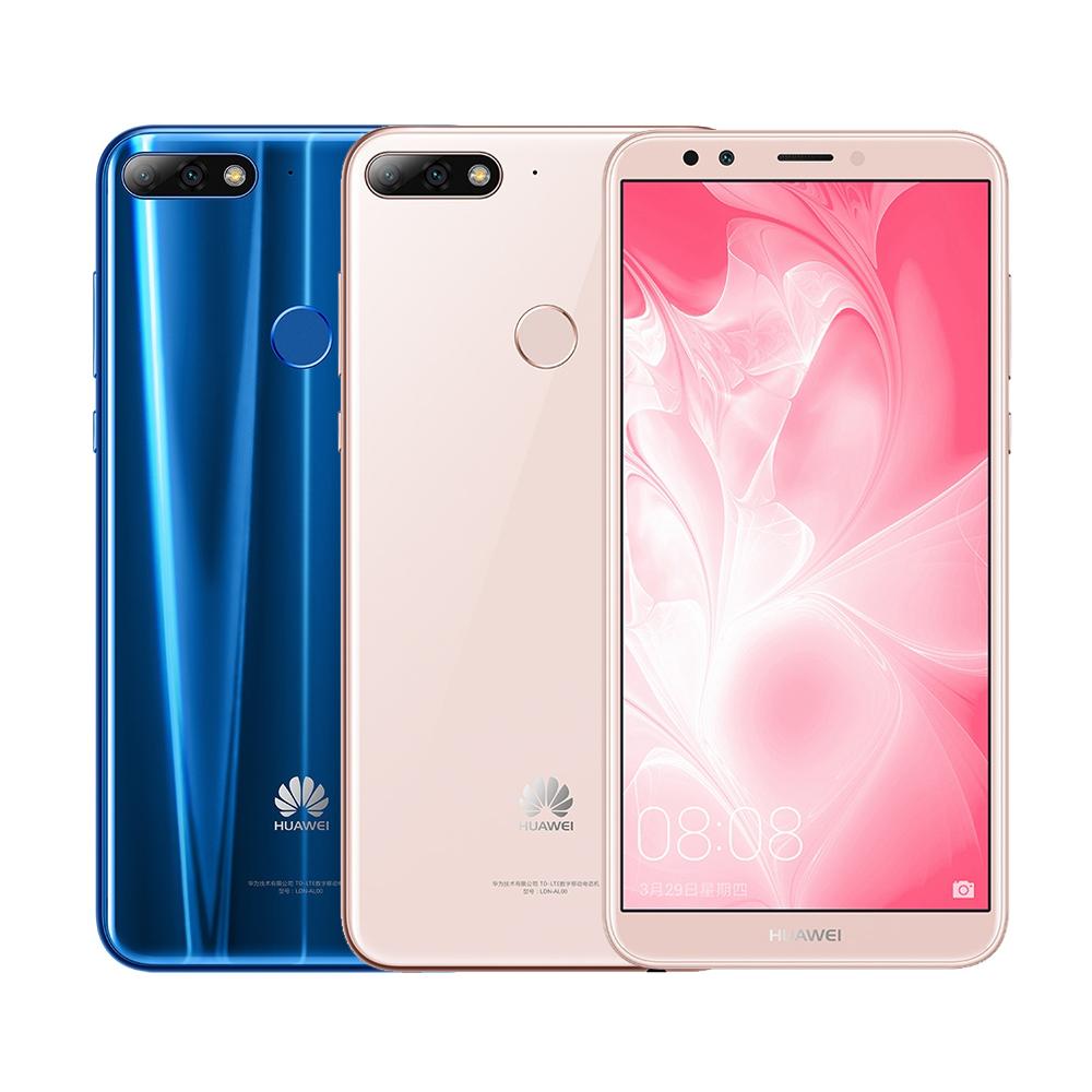 HUAWEI 华为 Y7 Prime 2018 (3GB/32GB) 5.99吋八核心全面屏机 (赠原厂礼盒组等7好礼)