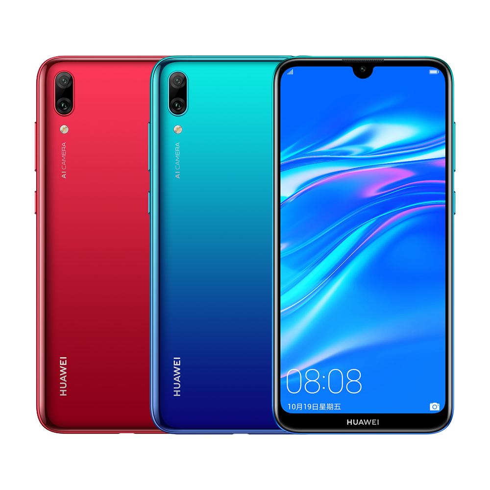 HUAWEI 華為 Y7 Pro 2019 (3GB/32GB) 6.26吋AI雙鏡頭全屏機(送原廠禮盒3件組等6好禮)