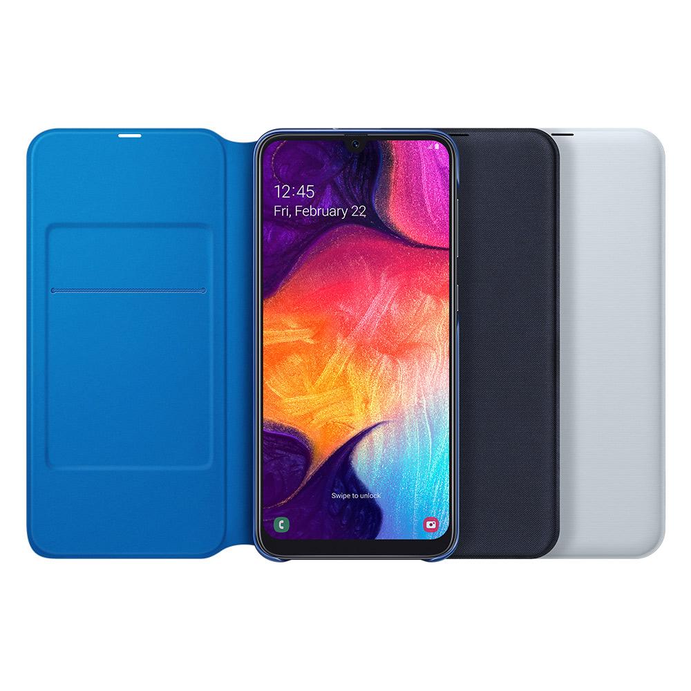 SAMSUNG Galaxy A50 原廠翻頁式皮套 (台灣公司貨)